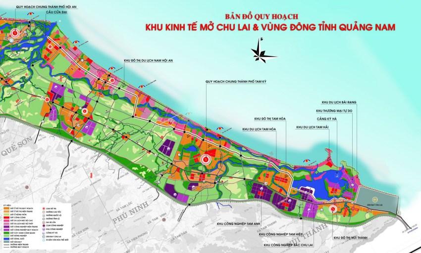 Quy hoạch khu kinh tế mở Chu Lai trở thành khu kinh tế trọng điểm