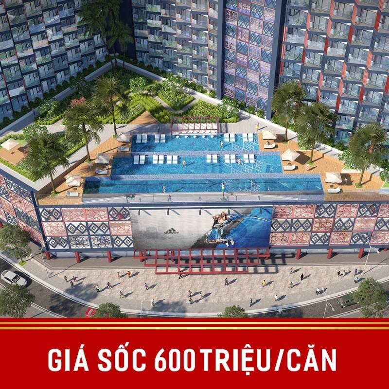 Giá chỉ 600 triệu một căn hộ Apec Mandala Huế