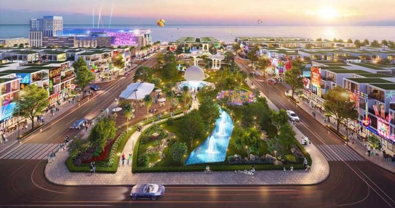 Công viên nội khu dự án Condotel Aria Đà Nẵng