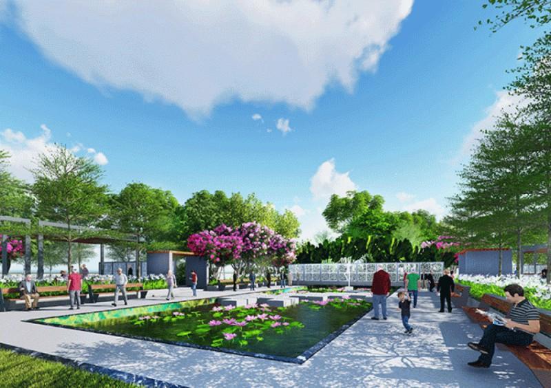 Công viên cây xanh giải trí