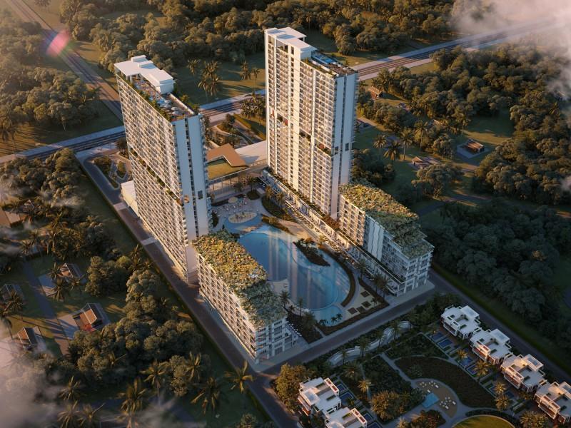 Phối cảnh dự án Aria Đà Nẵng Hotel & Resort