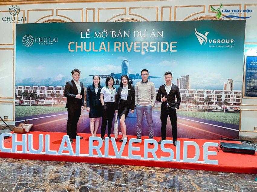 Chiến binh Lâm Thủy Mộc tại lễ mở bán Chu Lai Riverside