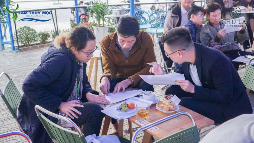 Đông đảo khách hàng quan tâm dự án Chu Lai Riverside