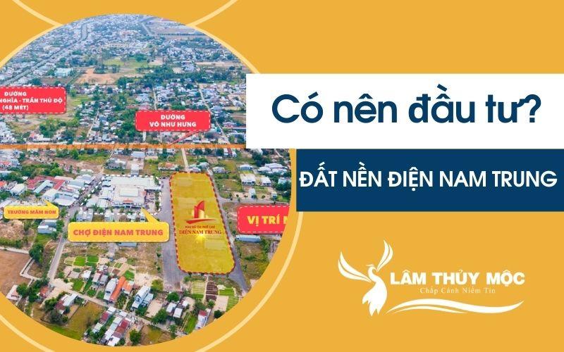 Có nên đầu tư đất nền phố chợ Điện Nam Trung
