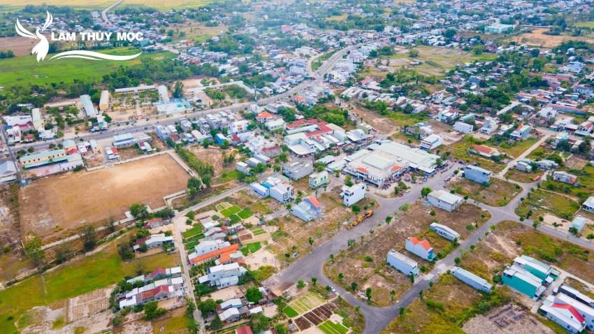 Thực tế dự án khu phố chợ Điện Nam Trung