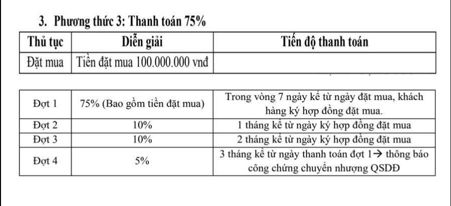 Phương thức thanh toán 75%