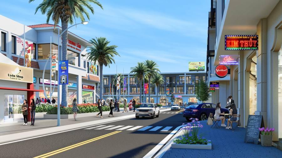 Xây dựng nhiều trung tâm thương mại hiện đại trong lòng khu đô thị