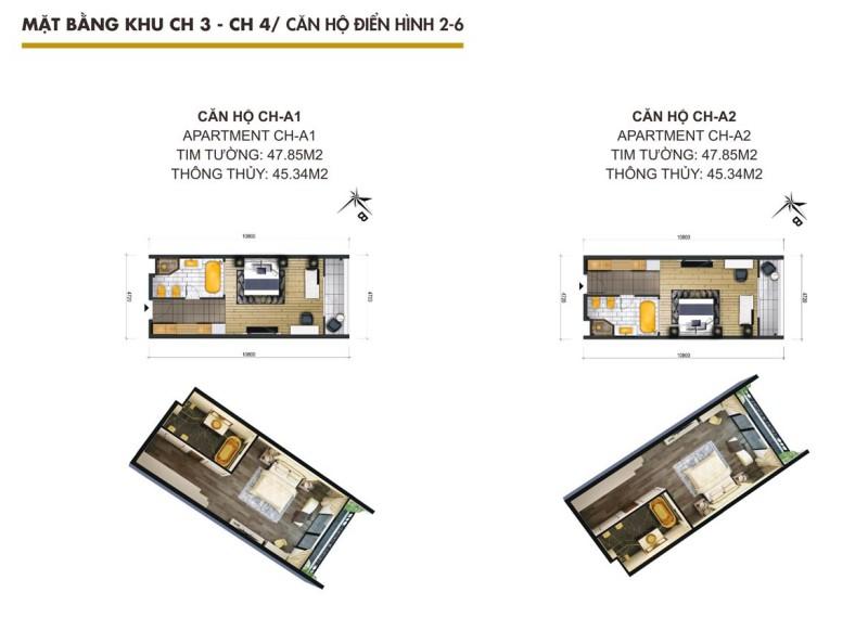 Thiết kế dự án căn hộ condotel Hội An Golden Sea