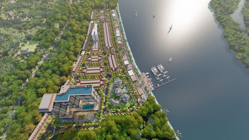 Phối cảnh dự án Nam hội An City
