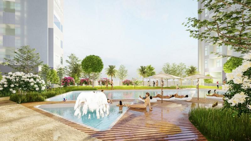 Không gian sống xanh đầy năng lượng của dự án Phú Mỹ An Tower