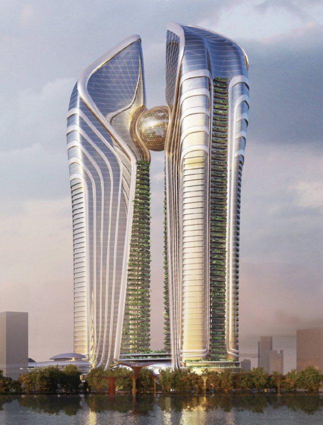 Phối cảnh tháp tài chính 2 tỷ USD tại Đà Nẵng