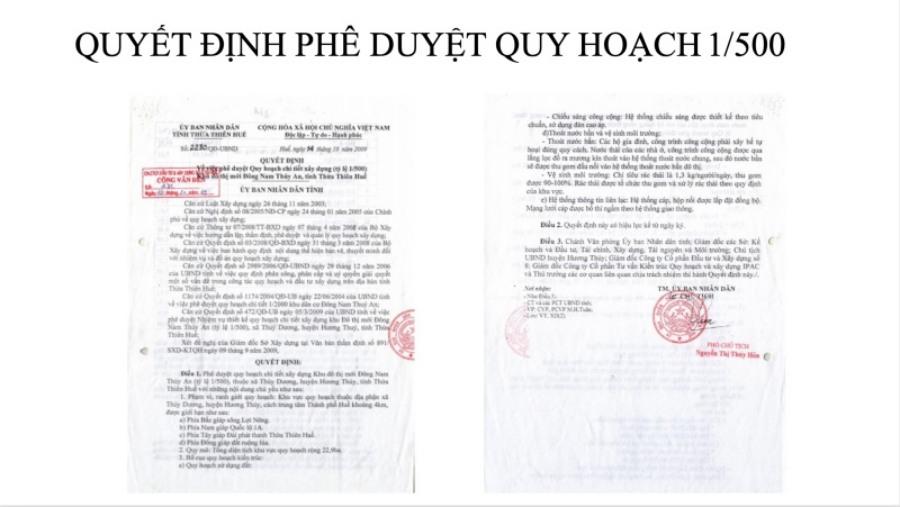 Pháp lý dự án The First Minh Linh Compound minh bạch