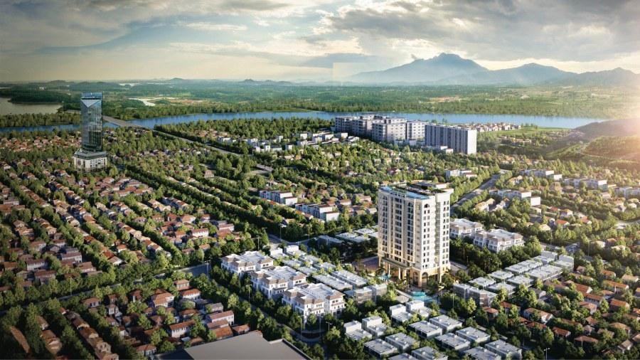 Phối cảnh vị trí dự án The First Minh Linh Huế