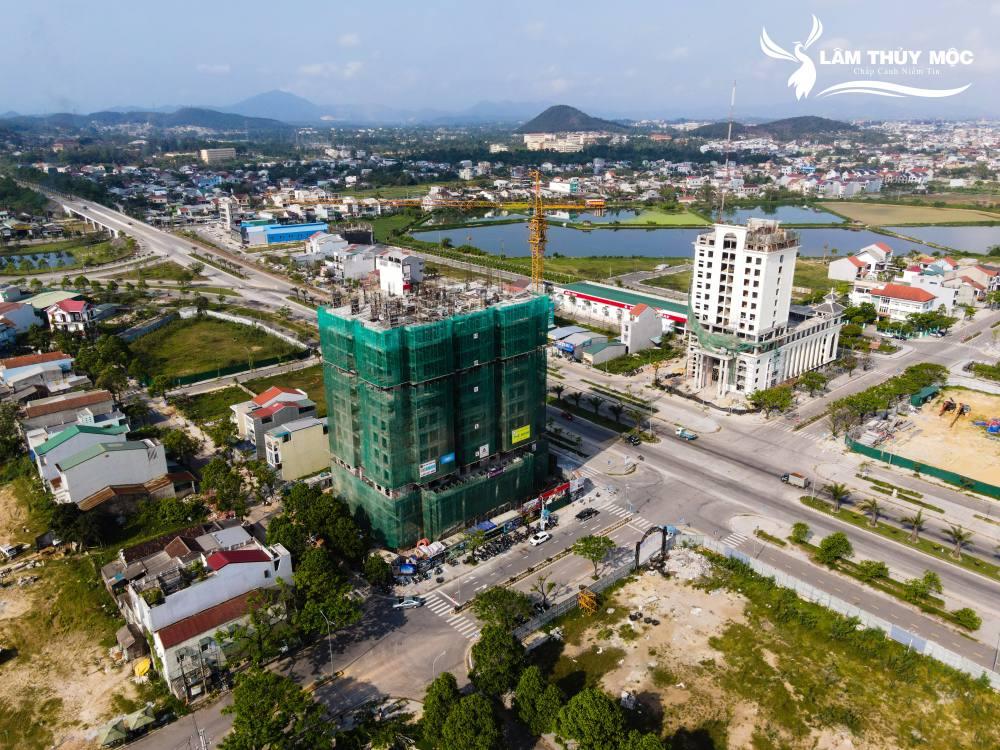 dự án sở hữu mặt tiền đường 60m