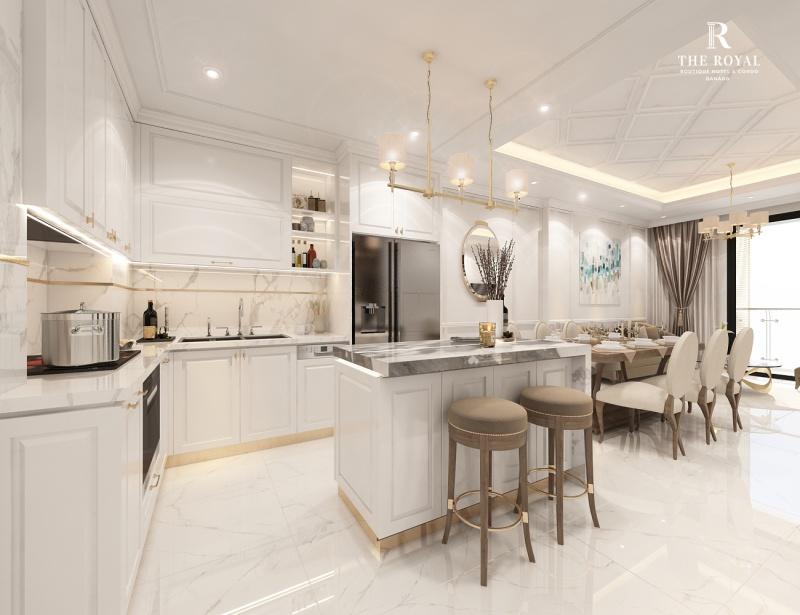 Căn hộ 2 phòng ngủ dự án The Royal Đà Nẵng