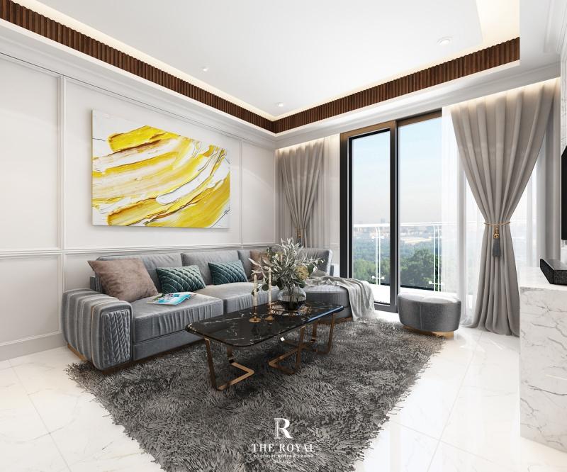 Căn hộ 3 phòng ngủ dự án The Royal Đà Nẵng