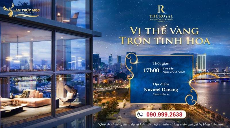 Sự kiện ra mắt dự án The Royal Đà Nẵng