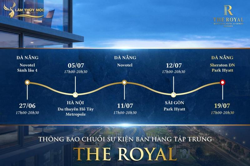 Chuỗi sự kiện ra mắt The Royal Đà Nẵng