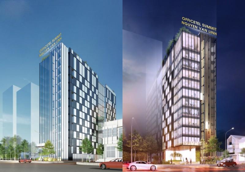 Kiến trúc hiện đại của dự án Officetel The Summit Đà Nẵng