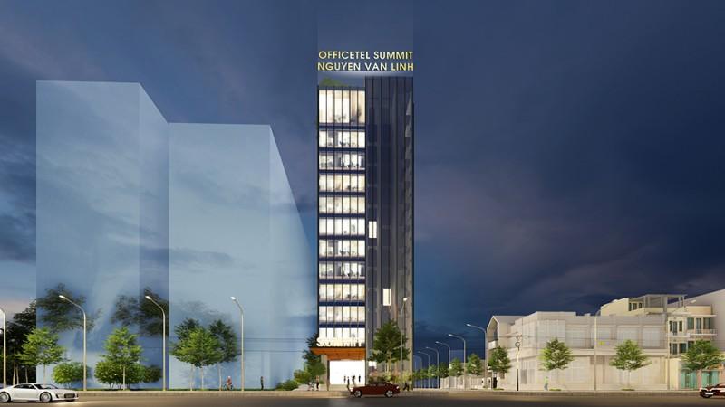 Phối cảnh dự án căn hộ Officetel The Summit Building Đà Nẵng