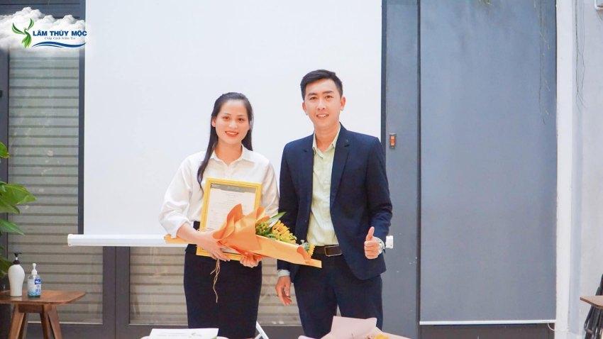 Tân phó giám đốc kinh doanh công ty Lâm Thủy Mộc