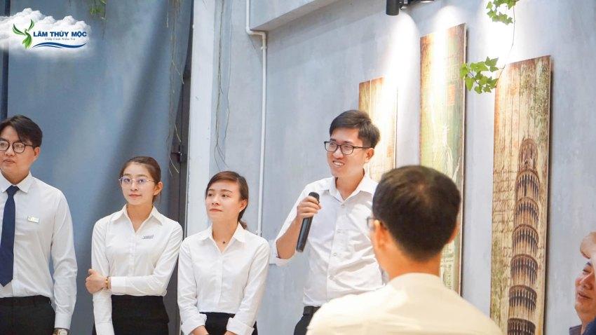 Lễ bổ nhiệm phó giám đốc kinh doanh công ty Lâm Thủy Mộc