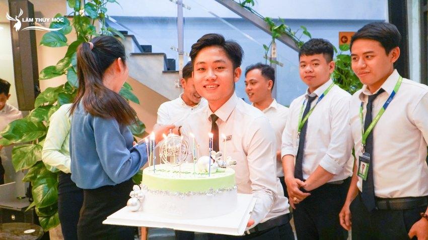 Đại hội sinh nhật Lâm Thủy Mộc