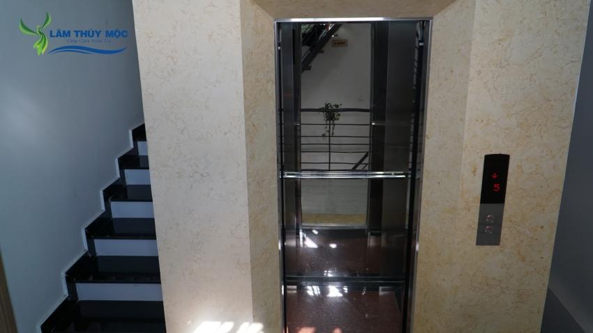 Dịch vụ thang máy tại công ty Lâm Thủy Mộc